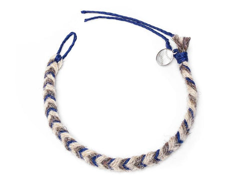 Mets Game Used Baseball Yarn Bracelet