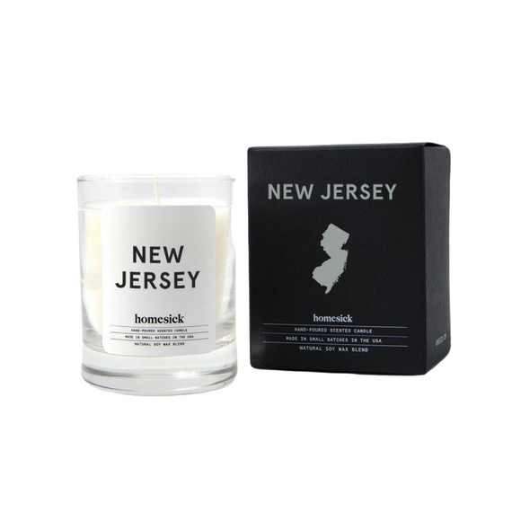 Mini New Jersey Candle