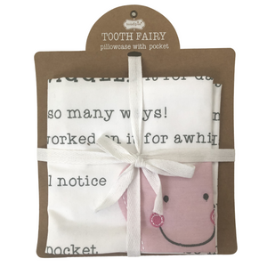 Pink Tooth Fairy Pillowcase