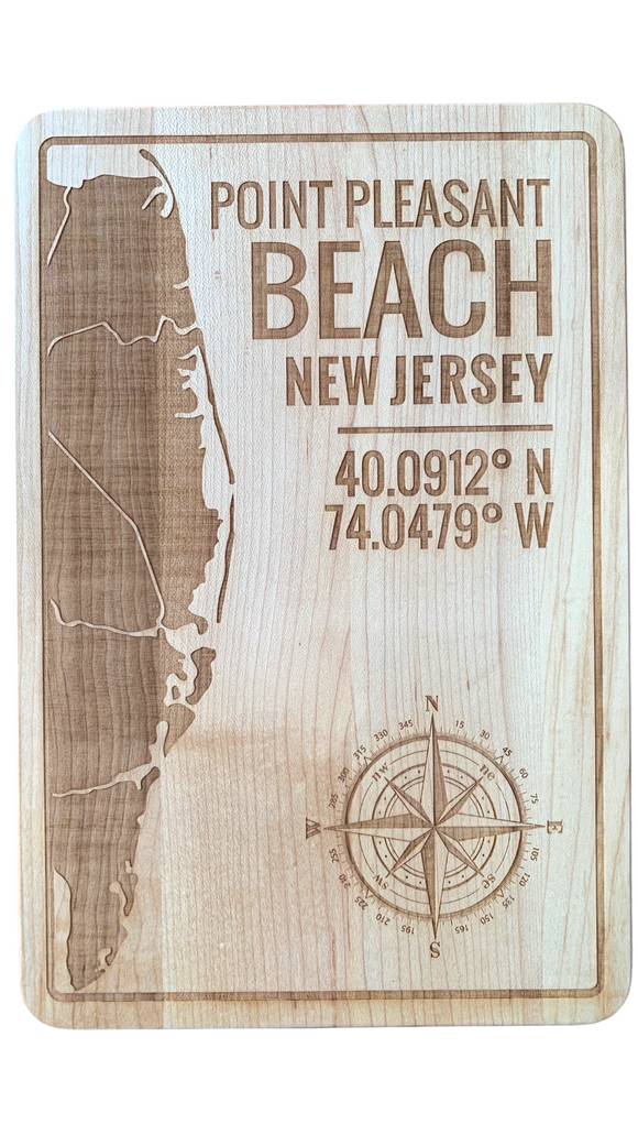 Point Pleasant Beach Cutting Board