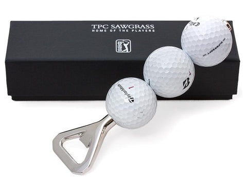 TPC Sawgrass Retrieved Golf Ball Bottle Opener