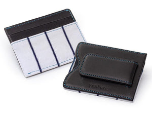 Yankees Game Used Uniform Money Clip Wallet
