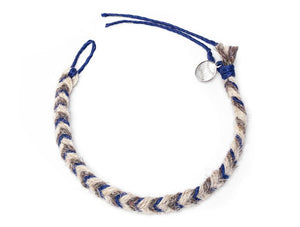 Yankees Game Used Baseball Yarn Bracelet