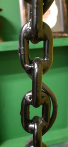Chain gang standing lamp