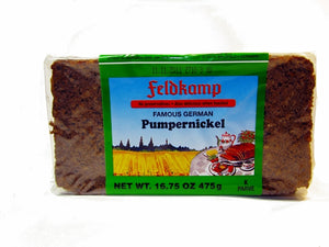 Feldkamp Pumpernickel bread, 17.6 oz