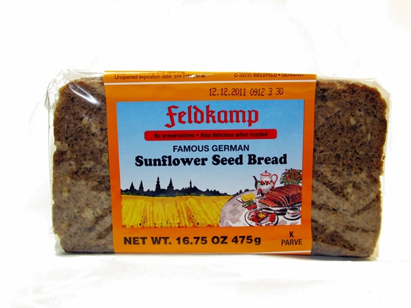 Feldkamp Sunflower Seed bread, 17.6 oz.