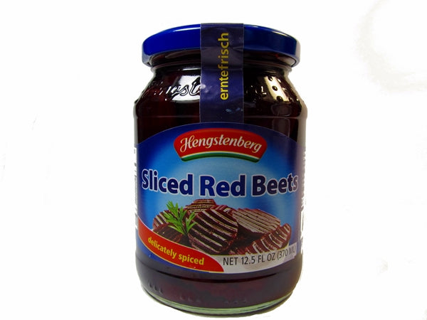 Hengstenberg Sliced Red Beets, 12.5 oz. jar
