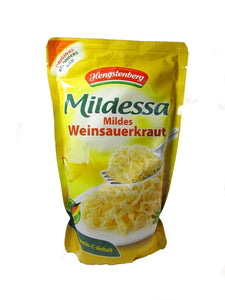 Hengstenberg Mildessa Sauerkraut in bag, 18.6 oz