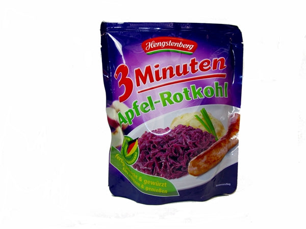 Hengstenberg Red Cabbage with Apple, 14 oz. bag