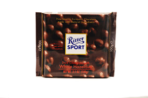 Ritter Sport Dark Chocolate with Whole Hazelnuts, 3.5 oz.