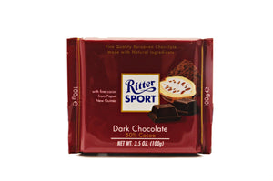 Ritter Sport Dark Chocolate, 3.5 oz.