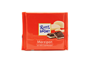 Ritter Sport Dark Chocolate with Marzipan, 3.5 oz.