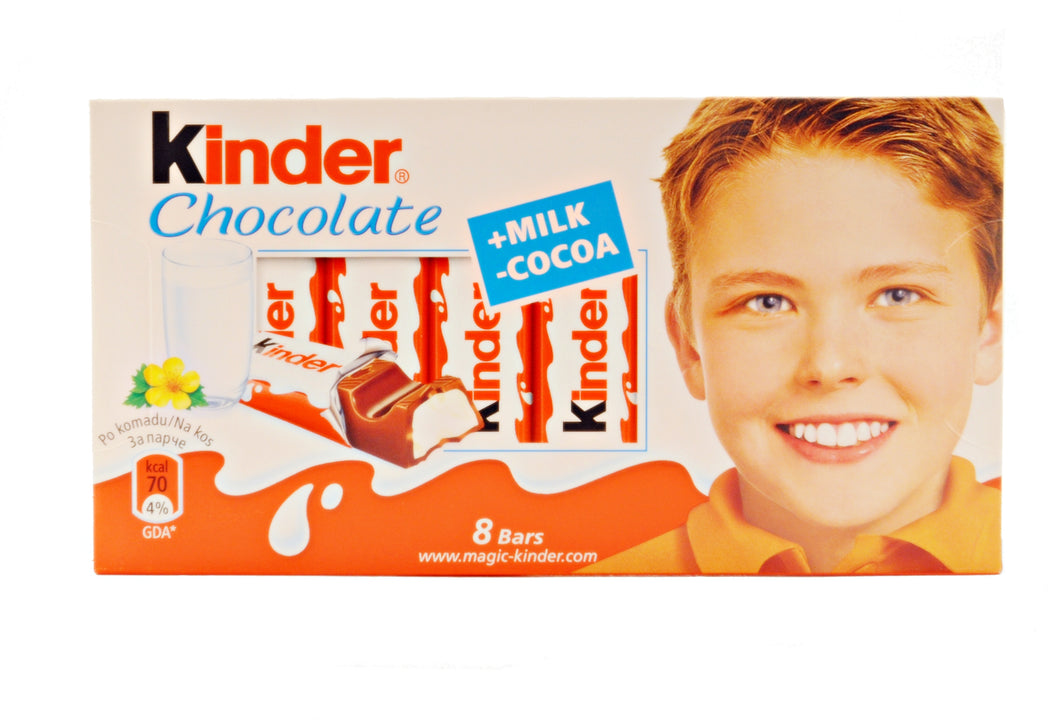 Ferrero Kinder Chocolate, 3.5 oz.
