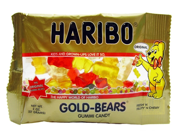 Haribo Gold-bears, 2 oz. bag