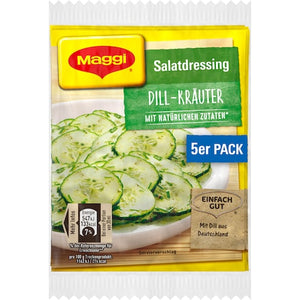 Maggi Dill Salad Dressing Mix -5 pack