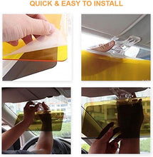 Load image into Gallery viewer, Anti glare day and night vision car sun-shield