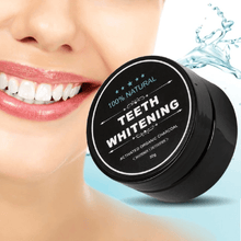 Load image into Gallery viewer, TEETH WHITENING CHARCOAL POWDER