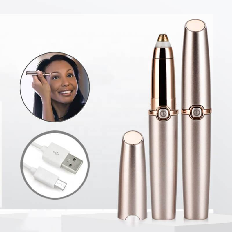 USB Rechargeable Mini Electric Eyebrow Trimmer