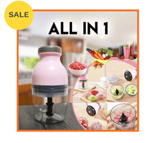 Load image into Gallery viewer, All in 1 Capsule Cutter Food Processor