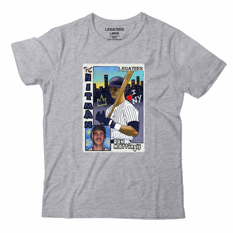 Don Mattingly Legatees Card Gray Tee