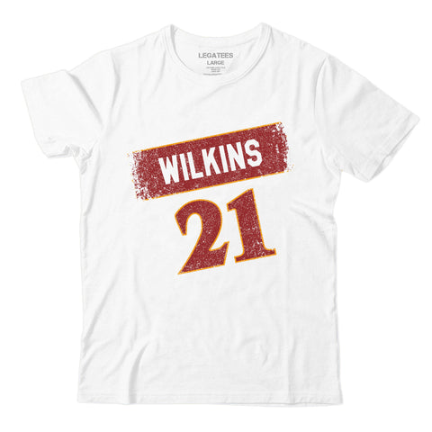 Dominique Wilkins White Tee