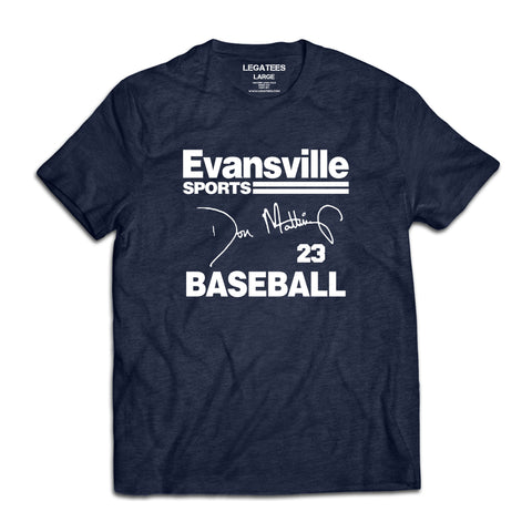 Don Mattingly Evansville Sports Tee