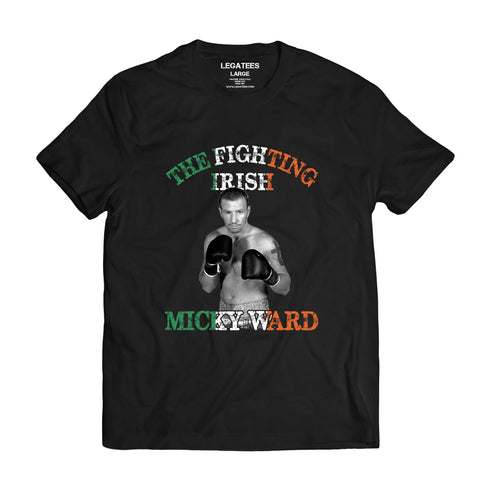 Micky Ward Fighting Irish Black Tee