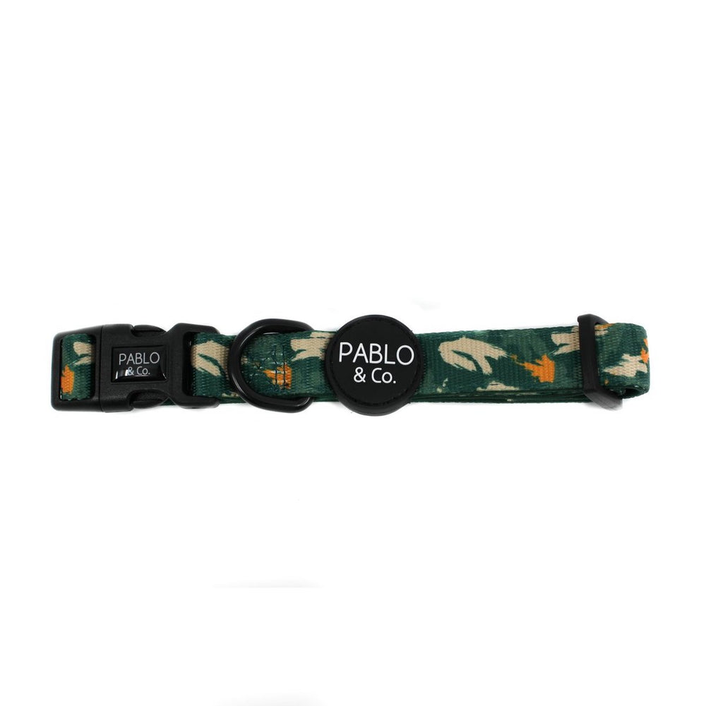PABLO & CO - Camo Dog Collar