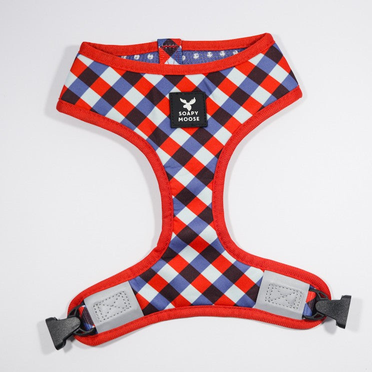 SOAPY MOOSE - The Trend Setter Reversible Dog Harness