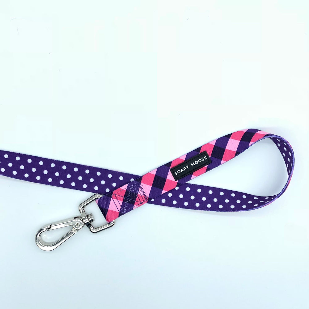 SOAPY MOOSE - The Fashionista Double Sided Leash