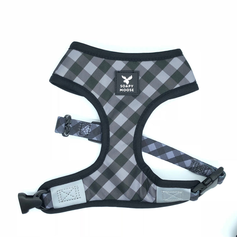 SOAPY MOOSE - The Manhattan Reversible Dog Harness
