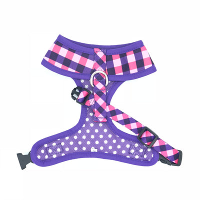 SOAPY MOOSE - The Fashionista Reversible Dog Harness