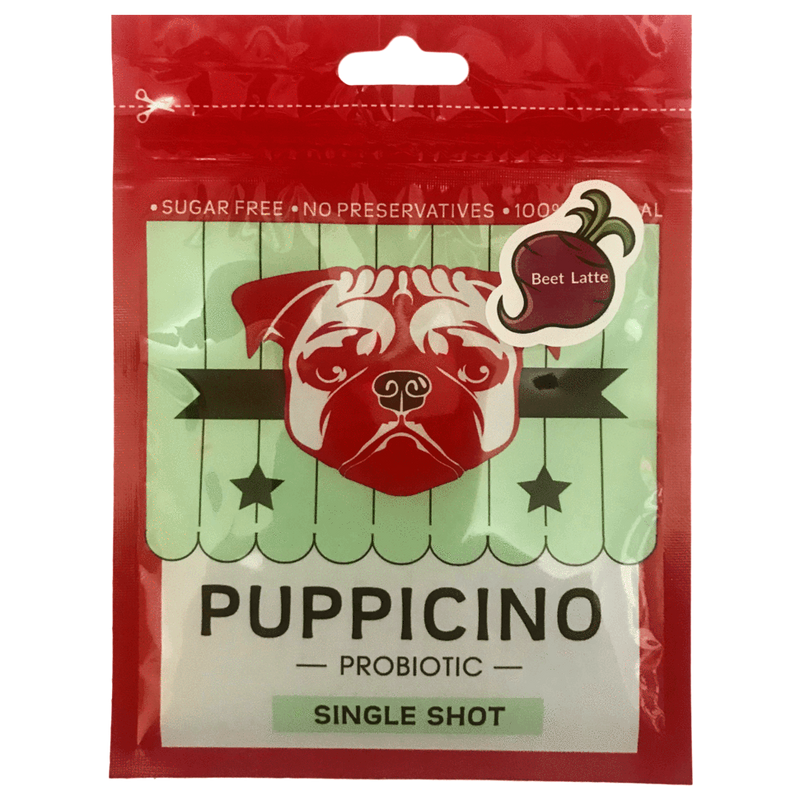 L'BARKERY - Puppicino Beet Latte Flavour