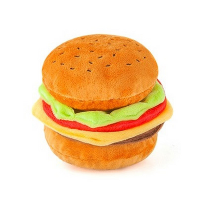 PLAY - American Classic Barky Burger Dog Toy