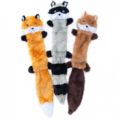 ZIPPY PAWS - Skinny Peltz 3-Pack Large Dog Toy