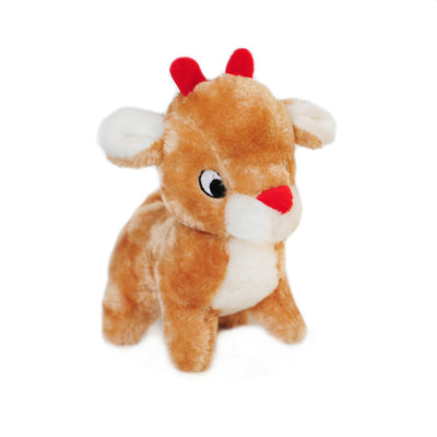 ZIPPY PAWS - Christmas Deluxe Dog Toy - Reindeer