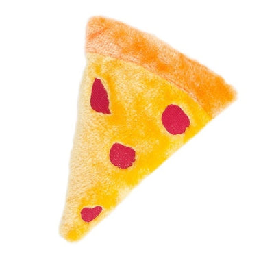 ZIPPY PAWS - NomNomz Squeakie Emojiz Pizza Slice Toy