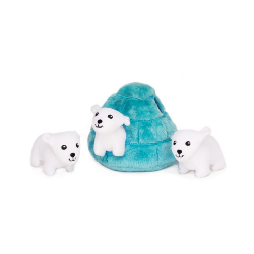 ZIPPY PAWS - Zippy Burrow Polar Bear Igloo
