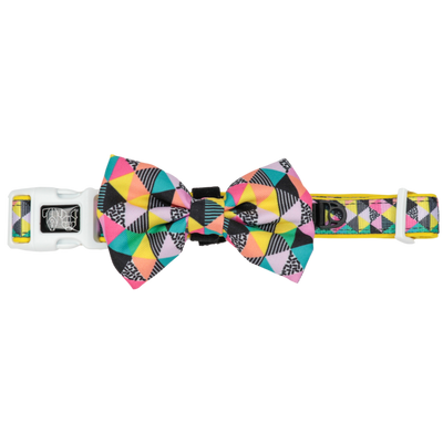 BIG & LITTLE DOGS - All-Sorts Dog Collar & Bow Tie