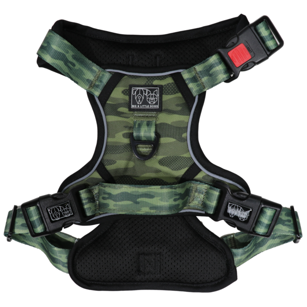 BIG & LITTLE DOGS - Camouflaged All Rounder Dog Harness