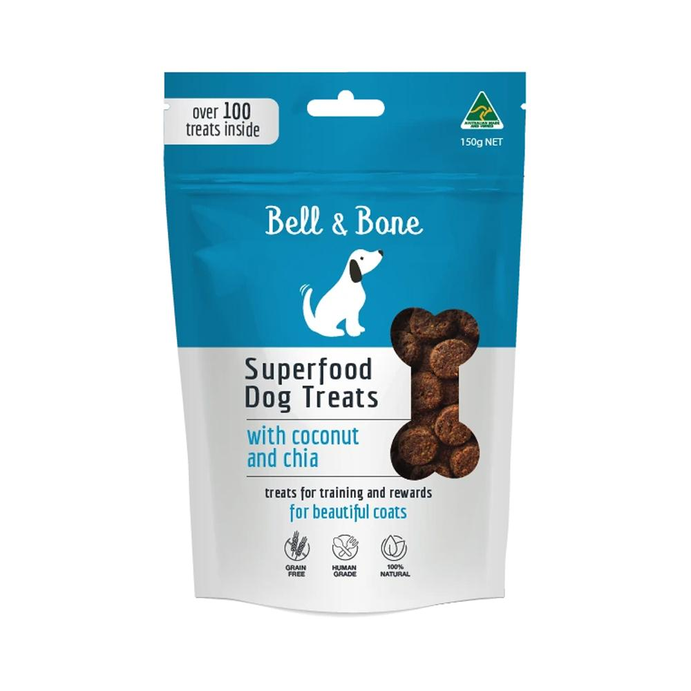 BELL & BONE - Superfood Dog Treats Coconut and Chia
