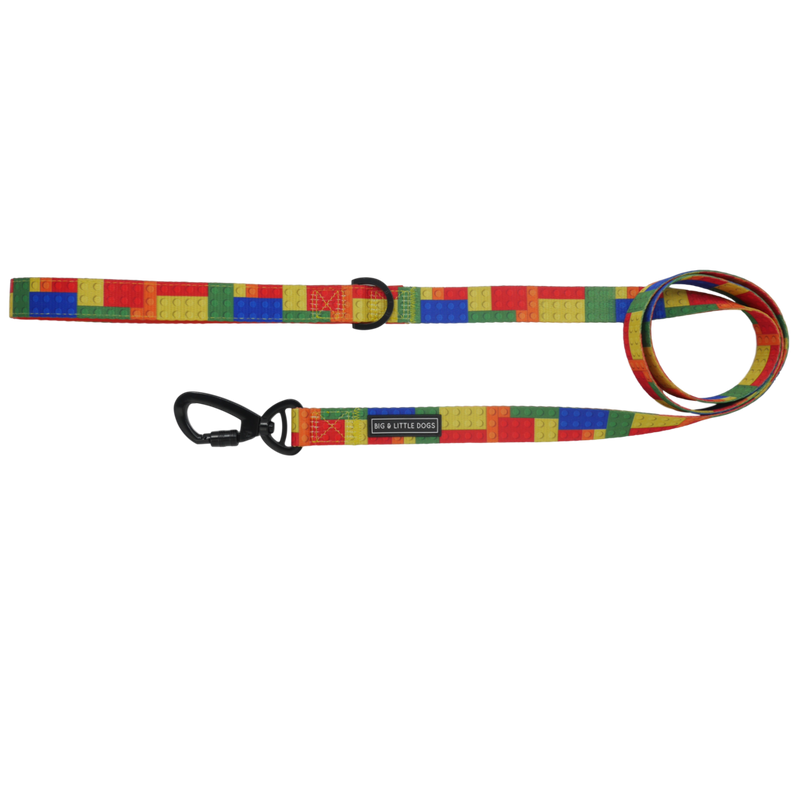 Fetch Connection - Big & Little Dogs Blocktastic Dog Leash