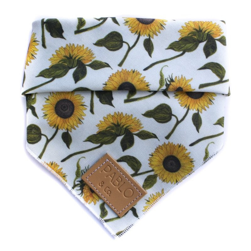 PABLO & CO - Sunflowers Dog Bandana
