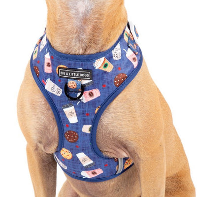 [LAST CHANCE] BIG & LITTLE DOGS - Cafe O'Clock Dog Harness