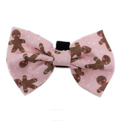 PABLO & CO - Blushing Gingerbread Christmas Bowtie