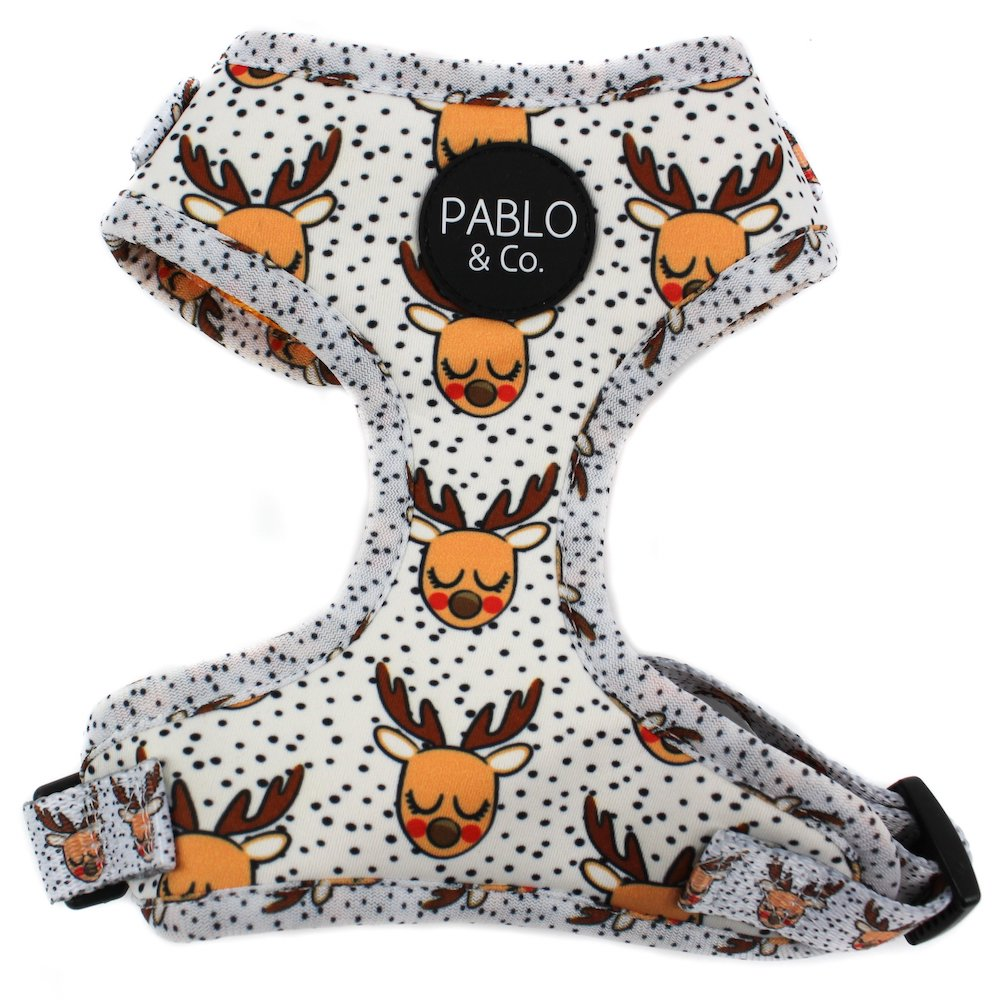 PABLO & CO - Rudolph Christmas Adjustable Dog Harness