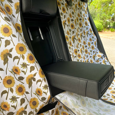 PABLO & CO - Sunflowers Hammock Back Car Seat Cover