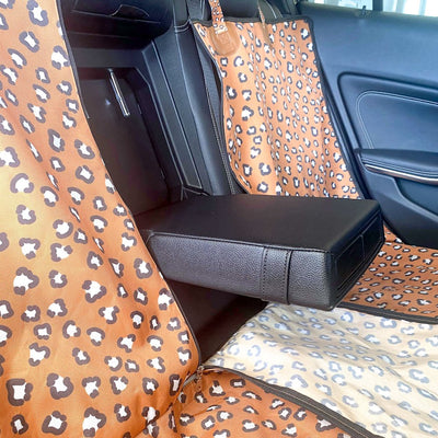 PABLO & CO - That Leopard Print Hammock Back Car Seat Cover