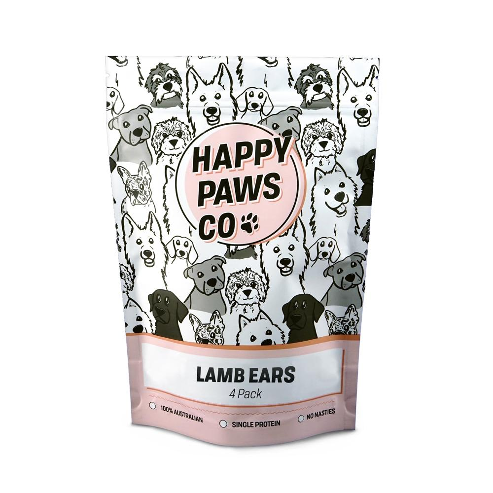HAPPY PAWS CO - Lamb Ears With Fur