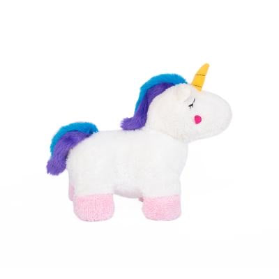 ZIPPY PAWS - Charlotte the Unicorn Plush Dog Toy
